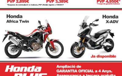 Promoció Honda 2017