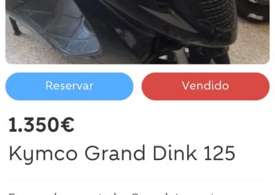 Kymco Grand Dink 125